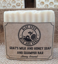 Load image into Gallery viewer, Goat's Milk and Honey Soap and Shampoo Bar
