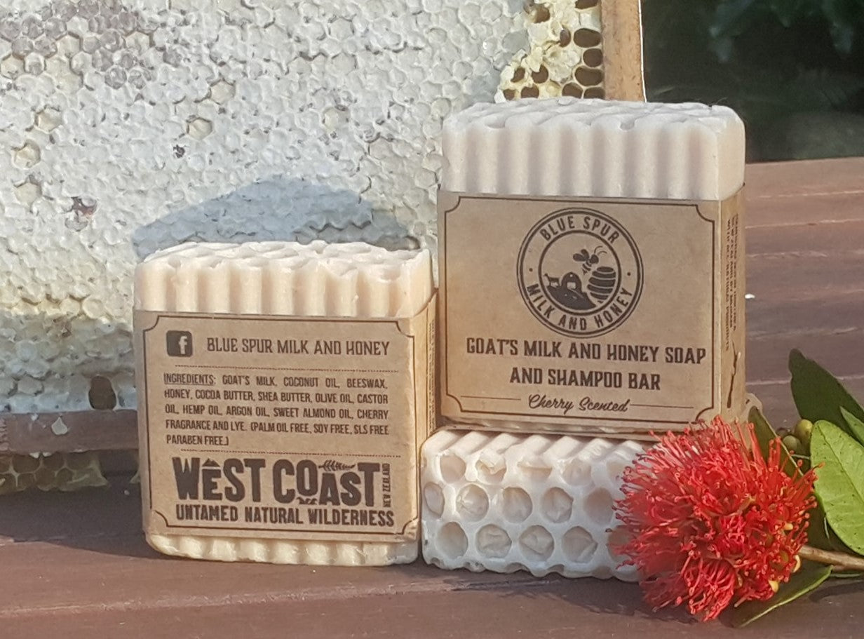Goat's Milk and Honey Soap and Shampoo Bar