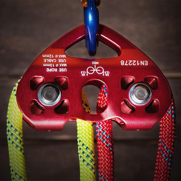 Climbing Rescue Dual Pulley 25KN /5600Lbs