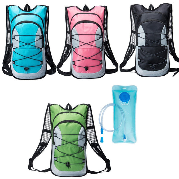 Travel Backpack + 2L Hydration Bladder