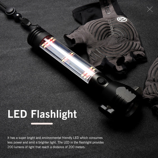 Multifunction LED Flashlight