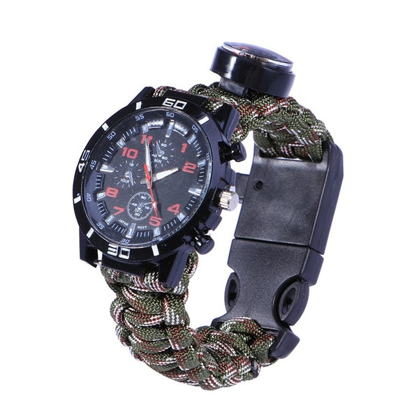 Multifunctional Umbrella Rope Watch