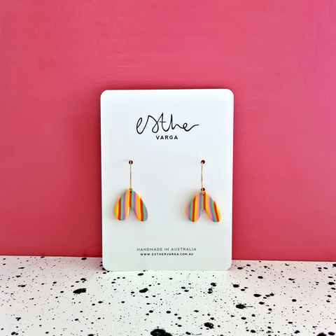 Candy Splatter Collection | Heart Hoops