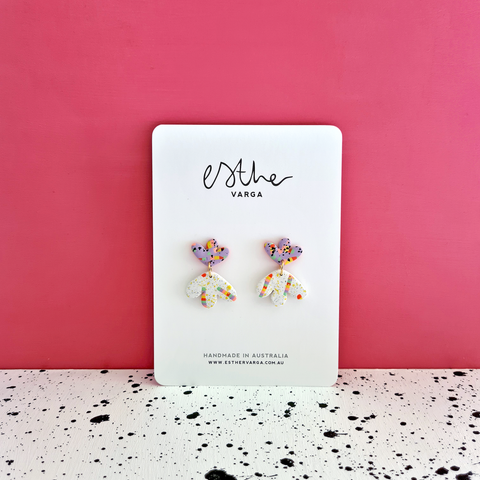 Candy Splatter Collection | Mini Fleur Dangles