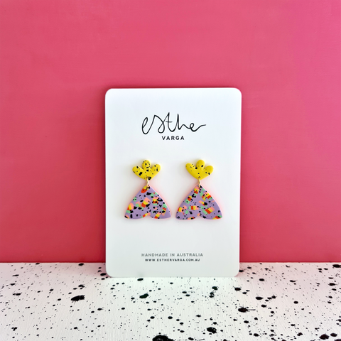 Candy Splatter Collection | Moth Dangles