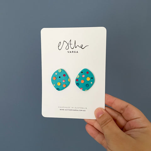 Turquoise Dream Collection | Statement Studs