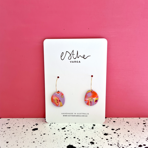 Sunset Swirl Collection | Hoops