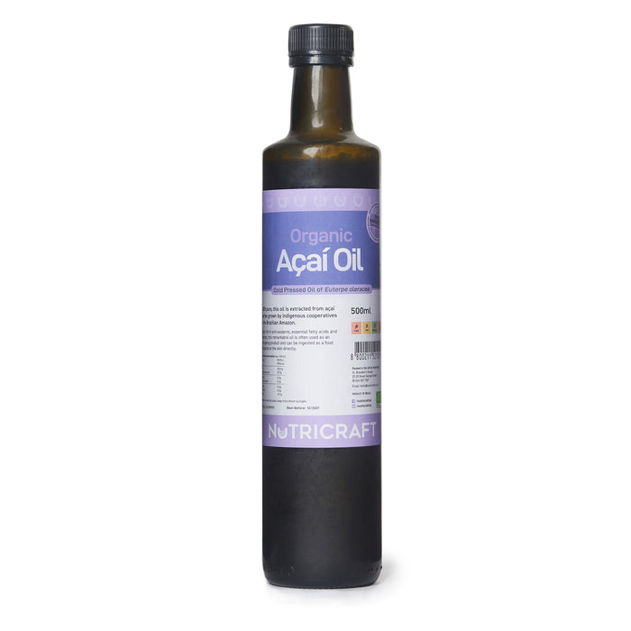 Organic Acai Oil (Cold Pressed)