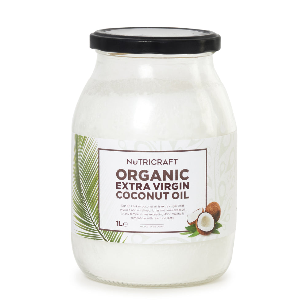 Organic Coconut Oil (Extra Virgin Cold Pressed)