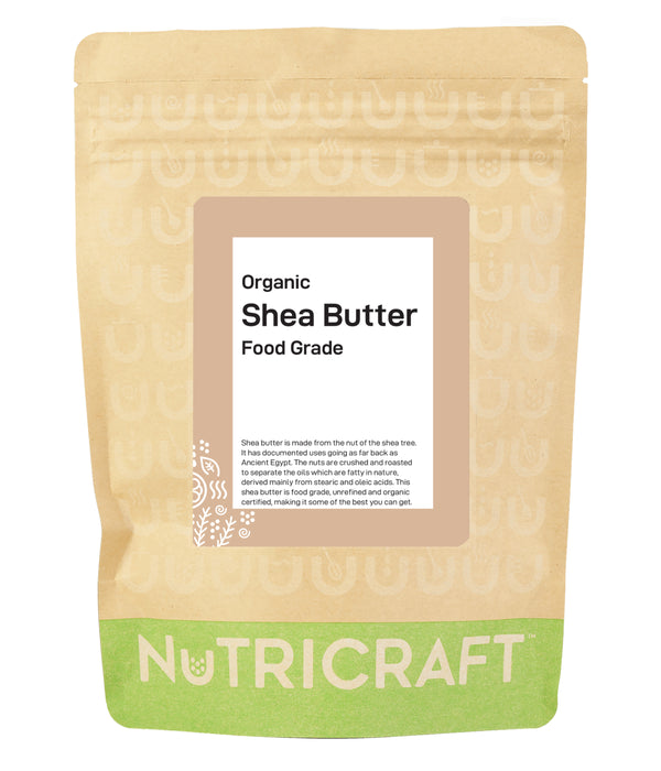 Organic Unrefined Shea Butter (food grade)