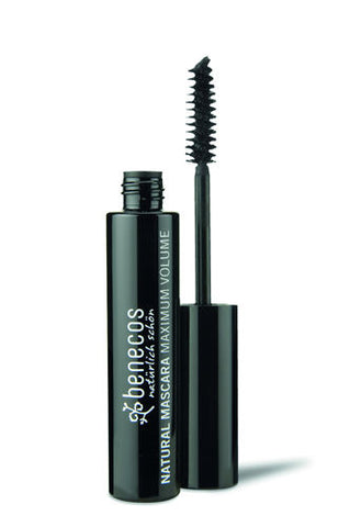 benecos NATURAL MASCARA MAXIMUM VOLUME deep black - weloorganic