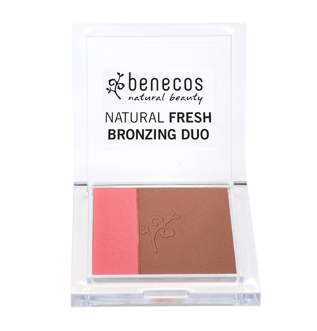 benecos NATURAL FRESH BRONZING DUO california nights - weloorganic
