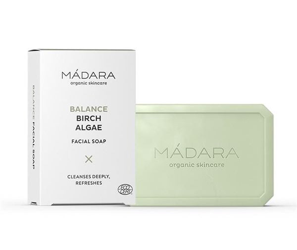 Mádara BALANCE Birch & Algae Facial Soap