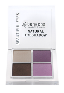 benecos NATURAL QUATTRO EYESHADOW beautiful eyes - weloorganic