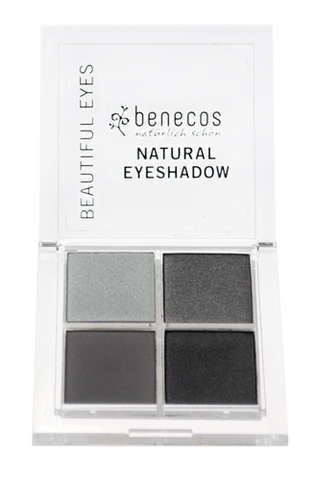 benecos NATURAL QUATTRO EYESHADOW smokey eyes - weloorganic