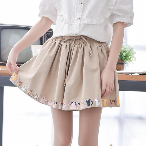 Cat & Dog Skirt