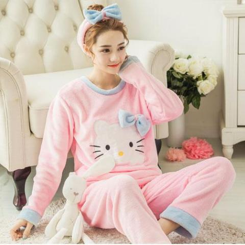 Hello Kitty pink/blue Pijama