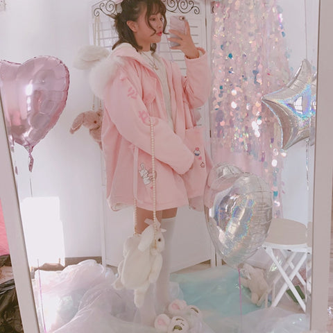 Pink Kawaii Coat
