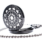 Black Mechanical Pocket Watch