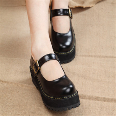 Ankle Strap Cute Shoes