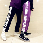 Japanese Letters Pants