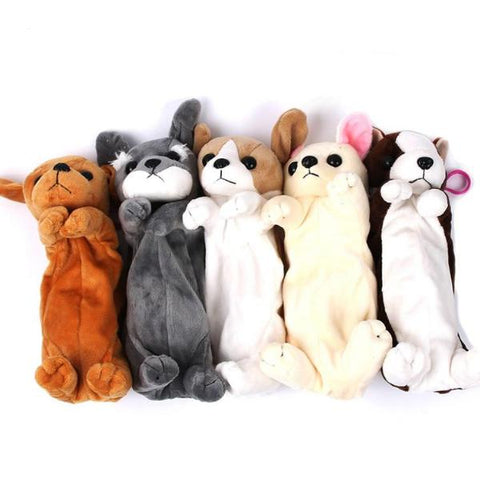 Dog Puppy Pencil Cases