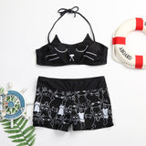 Cat Lover Swimwear