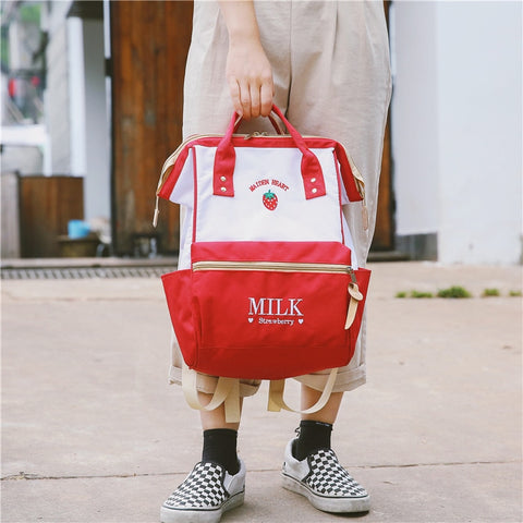 Japanese Strawberry Milk Backpack