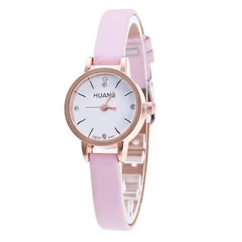 Pink Female Watch