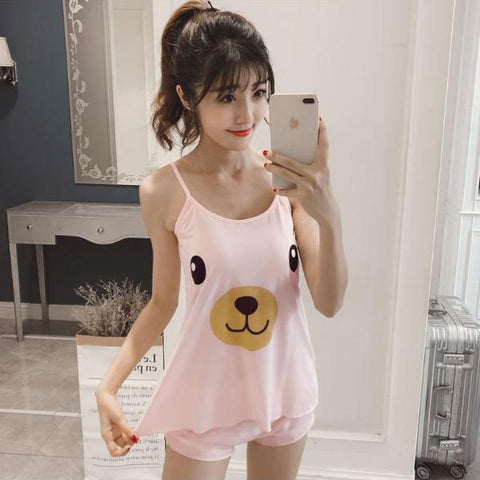 Summer Cartoon Pijama