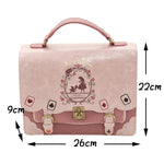 Alice In Wonderland Kawaii Schoolbag