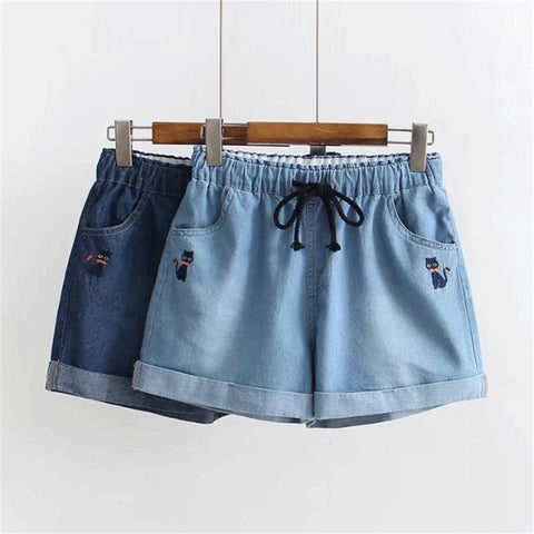 Japanese Soft Short Jeans