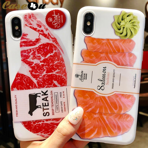 Japanese Salmon and Beef Soft Silicone Case