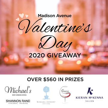 Madison Avenue Valentine's Day Giveaway!