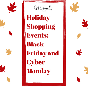 Holiday Shopping Events at Michael's!