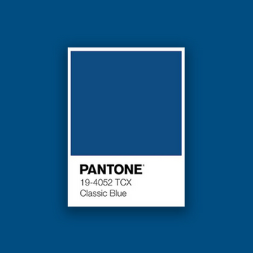 Pantone 2020 Color of the Year: Classic Blue