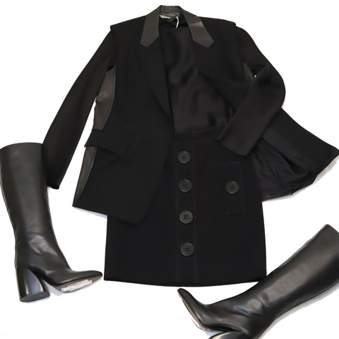 All Black Look Consignment Styling