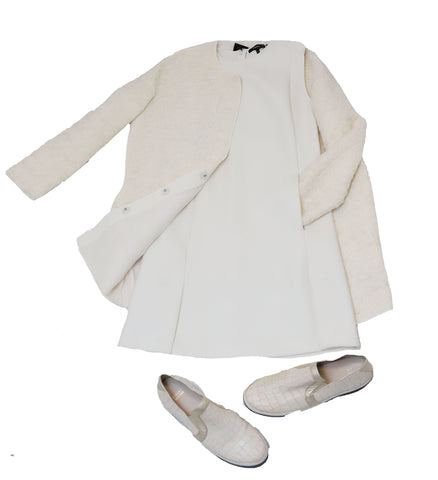 All White Look Consignment Styling
