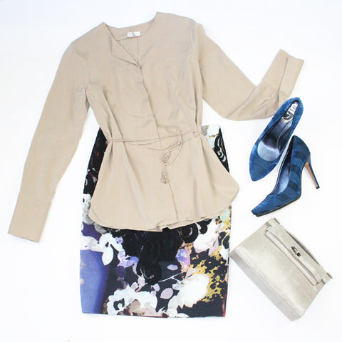 Brunello Cucinelli Blouse and Rene Caovilla Shoes