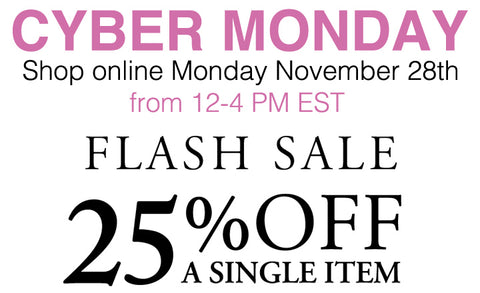 Cyber Monday Consignment Deal