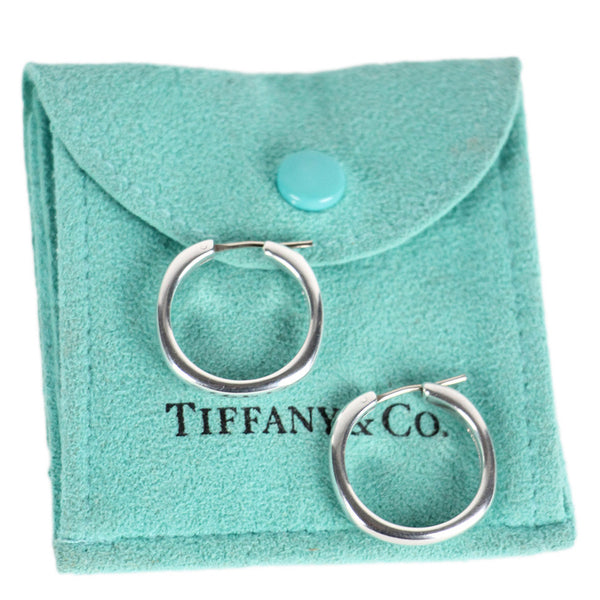Tiffany Hoop Earrings