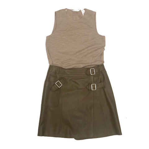Leather and Cotton Look Consignment Styling