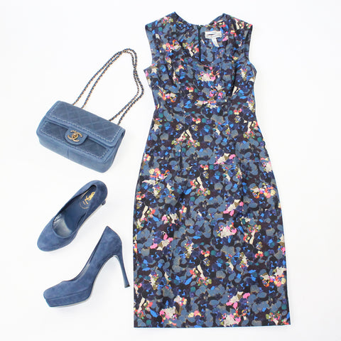 Erdem Dress and YSL Shoes