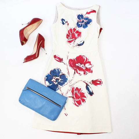 Moschino Dress and Christian Louboutin Shoes