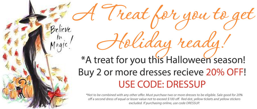 Get Holiday Ready with Michael's Dress Sale!
