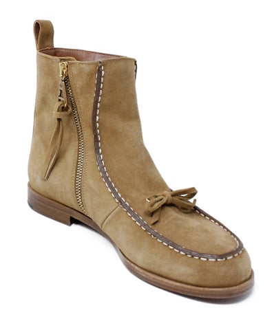Michaels luxury consignment polo suede booties