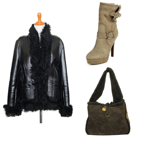 shearling at michael's consignment shop for women