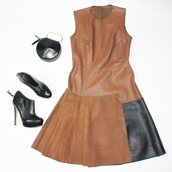 Sportmax Dress and House of Harlow Shoes