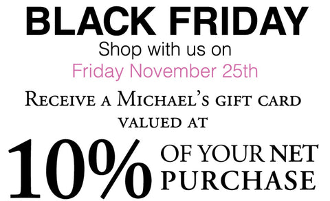 Black Friday Luxury Consignment Sale