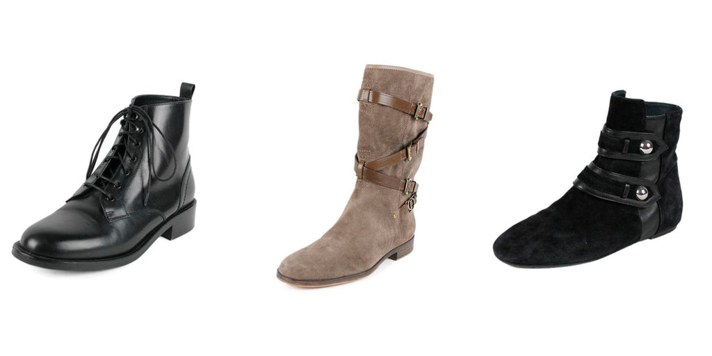 shop boots and booties at michael's consignment shop for women